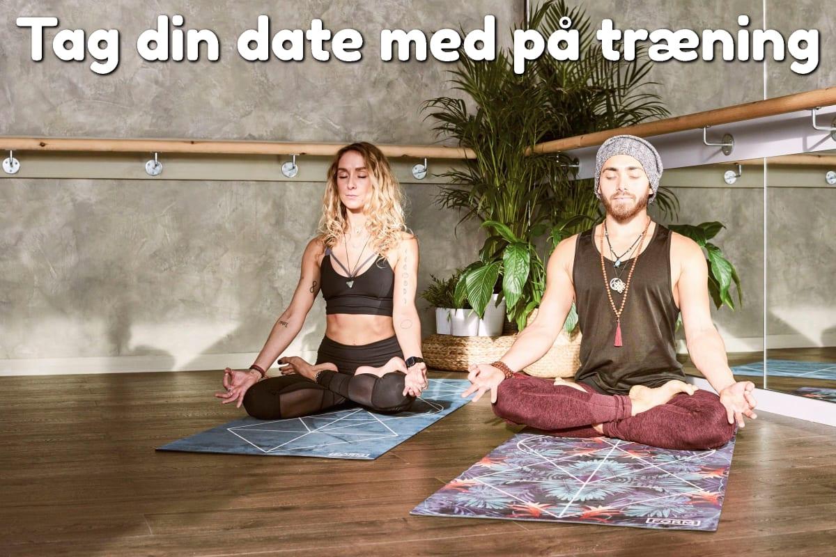 Tag din date med på træning
